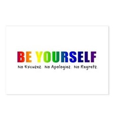 Be Yourself (Rainbow) Postcards (Package of 8)