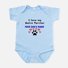 Custom I Love My Cairn Terrier Body Suit