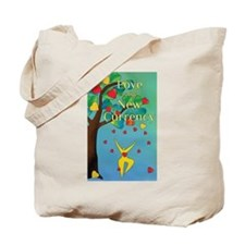 Love is the New Currency Tote Bag