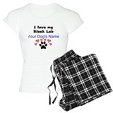 Black lab T-Shirt / Pajams Pants