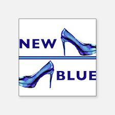 New Blue Shoe Sticker