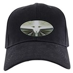 'Alien Scoot Man' Black Cap