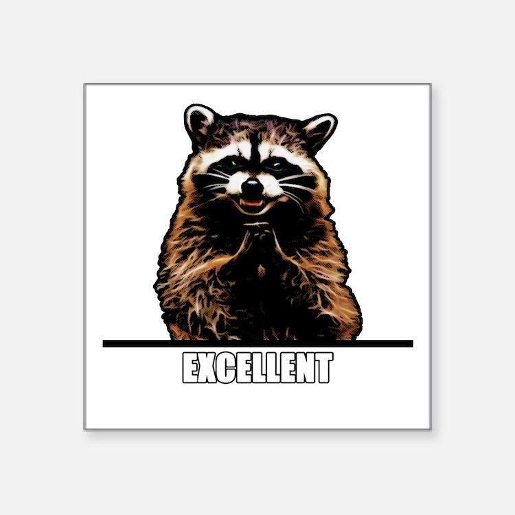 Evil Raccoon Sticker