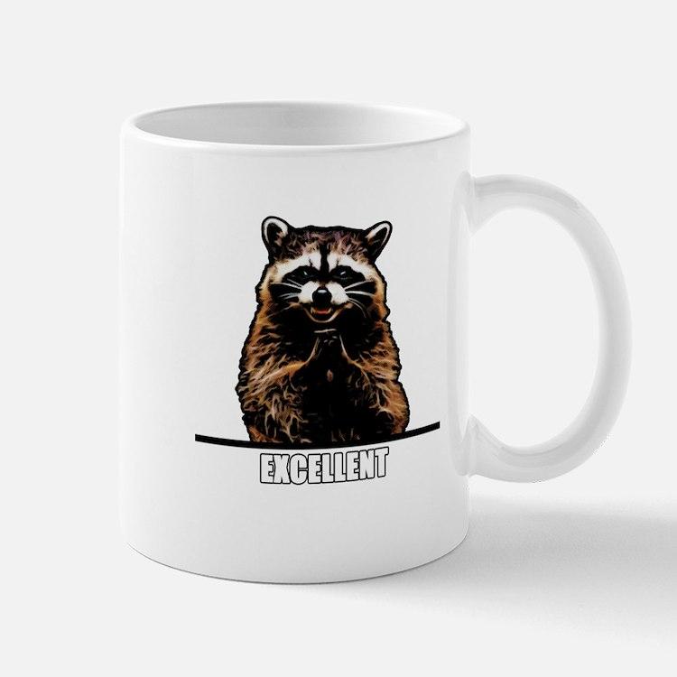 Evil Raccoon Small Mug