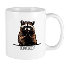 Evil Raccoon Small Mug