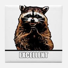 Evil Raccoon Tile Coaster