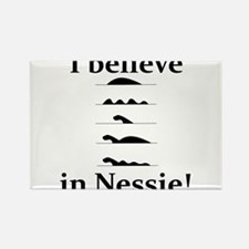 I Believe in Nessie Rectangle Magnet (10 pack)