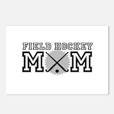 Field Hockey Mom Postcards (Package of 8)