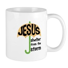 Jesus: Shelter from the Storm Mug
