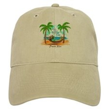 Unique Tropical island Baseball Cap
