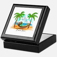 Cute Puerto rico Keepsake Box
