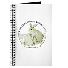 Cute Happy rabbit Journal