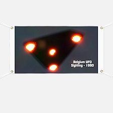 Belgium UFO Wave - 1989-1990 Banner