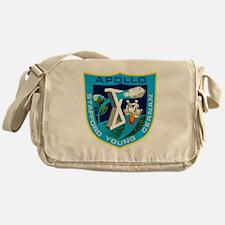 Apollo 10 Logo Messenger Bag