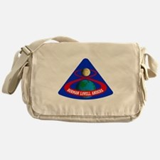 Apollo 8 Mission Logo Messenger Bag