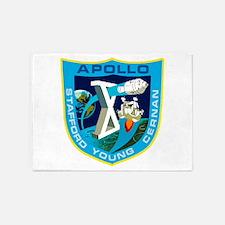 Apollo 10 Logo 5'x7'Area Rug