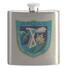 Apollo 10 Logo Flask