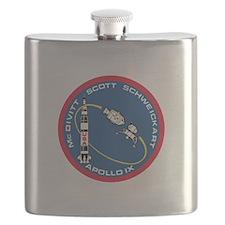Apollo 9 Logo Flask