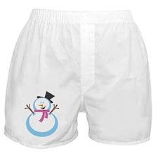MERRY XMAS SNOWMAN Boxer Shorts