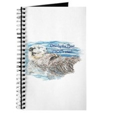 Otterly Best Mom ever Fun Quote Otter Journal