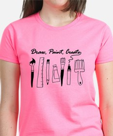 Draw Paint Create Tee