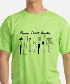 Draw Paint Create T-Shirt