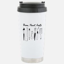 Draw Paint Create Travel Mug