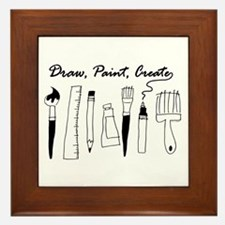 Draw Paint Create Framed Tile
