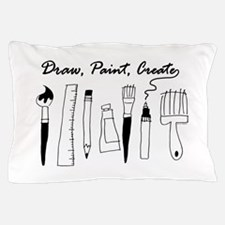 Draw Paint Create Pillow Case