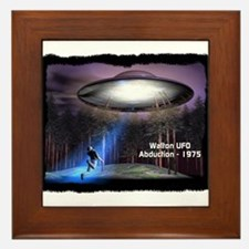 Walton UFO Abduction - 1975 Framed Tile