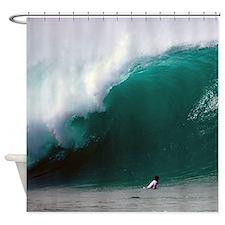Pipeline Surf Hawaii Tropical Shower Curtain