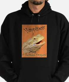 Happiness is a Bearded Dragon. Hoodie