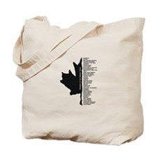 Enemies of the Harper State Tote Bag