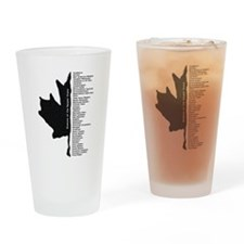 Enemies of the Harper State Drinking Glass