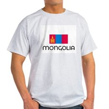 I HEART MONGOLIA FLAG T-Shirt