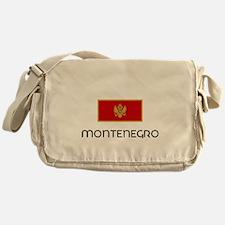 I HEART MONTENEGRO FLAG Messenger Bag