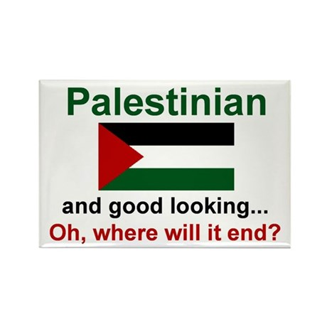 Good Looking Palestinian Rectangle Magnet
