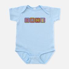 Zane Foam Squares Body Suit