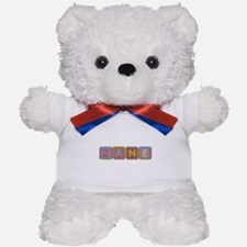 Zane Foam Squares Teddy Bear