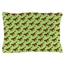 Horse Racing Pillow Case