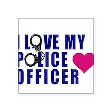I love my Police Officer Sticker