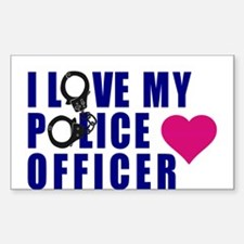 I love my Police Officer Decal