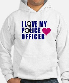 I love my Police Officer Hoodie