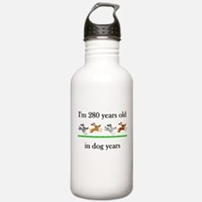 40 birthday dog years 1 Water Bottle