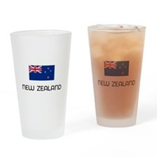 I HEART NEW ZEALAND FLAG Drinking Glass