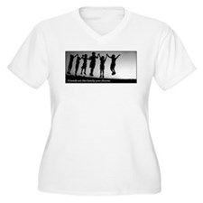 Friends Are Family Plus Size T-Shirt