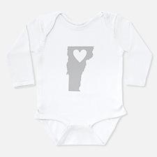 Heart Vermont Onesie Romper Suit