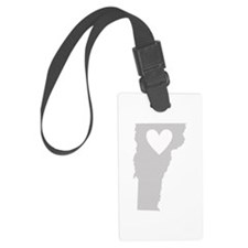 Heart Vermont Luggage Tag