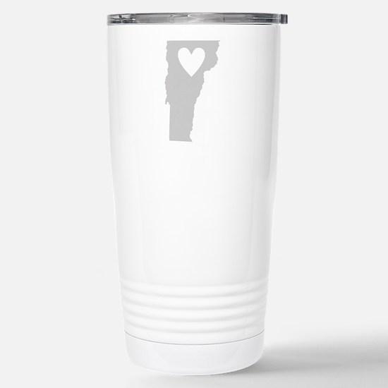 Heart Vermont Stainless Steel Travel Mug