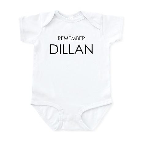 Remember Dillan Infant Bodysuit